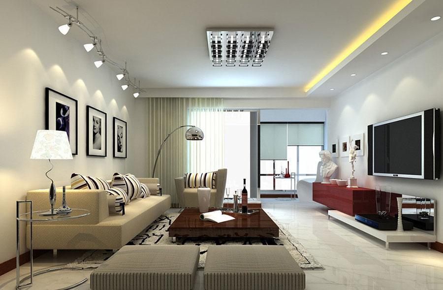 Saloni moderni contemporenei - 15 immagini ed idee di arredamento