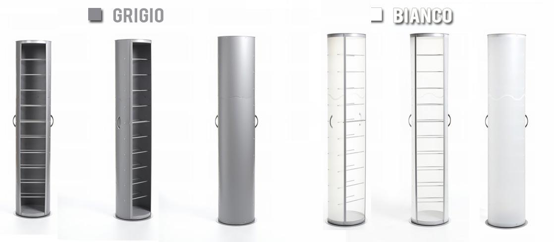 Scarpiera girevole design ad angolo di Emporium Slim
