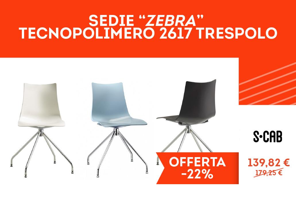 Casa e Stile Arredamenti - Sedie ZEBRA TECNOPOLIMERO 2617