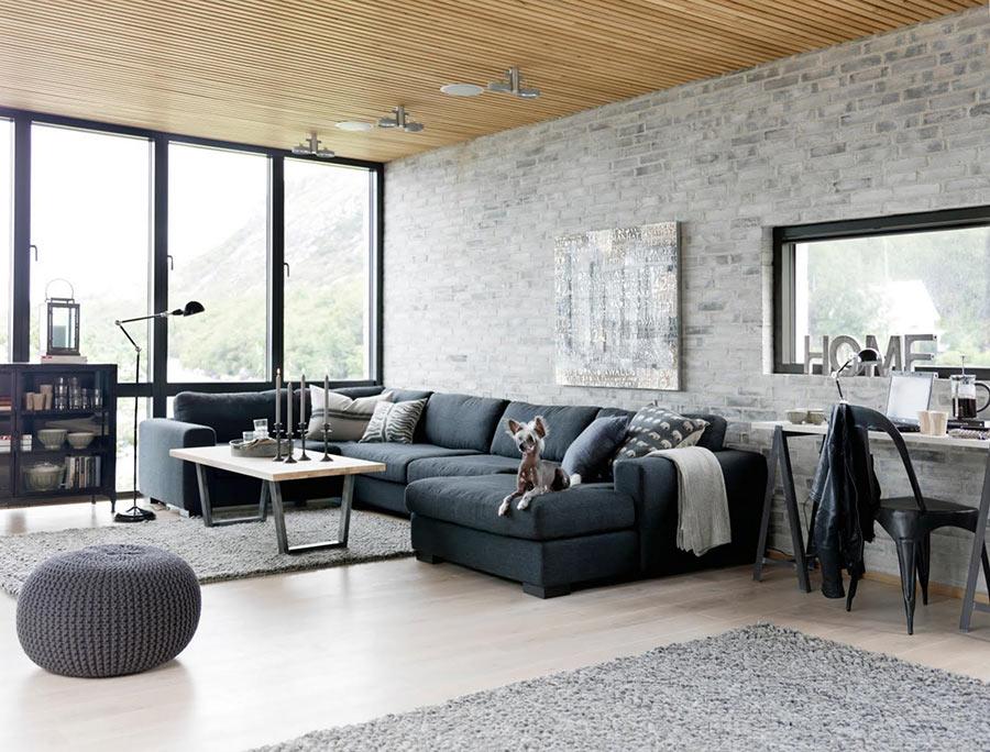 Come arredare un soggiorno moderno con stile e risparmiare