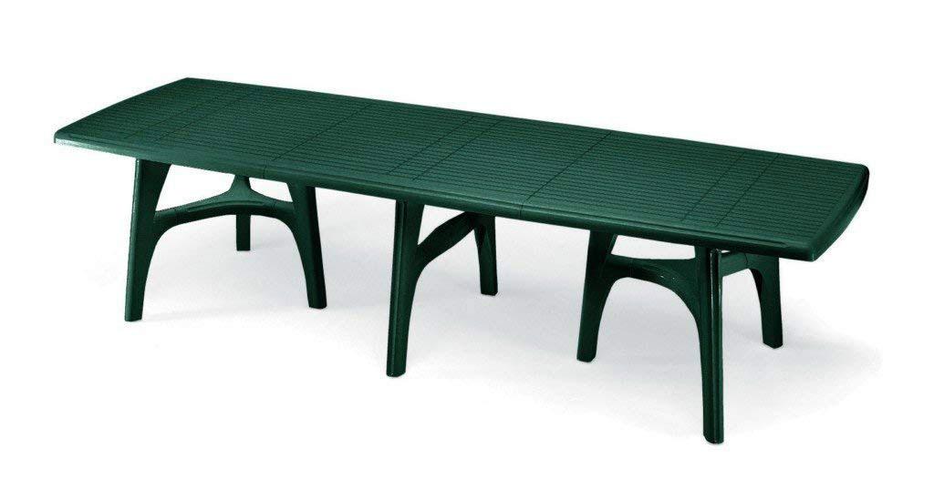 Tavolo per giardino allungabile in resina mod president for Mobili da giardino resina